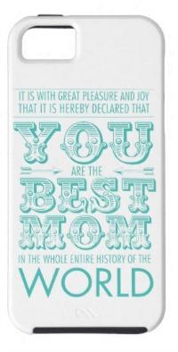 Best mom award phone case