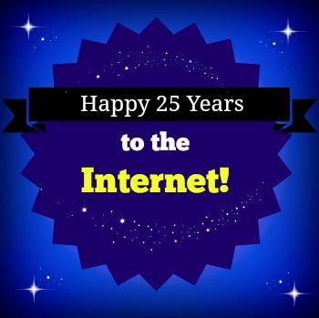 Internet 25th Anniversary