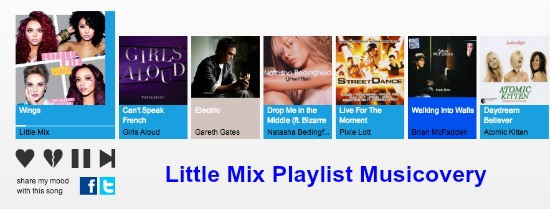 Little Mix Playlist Musicovery
