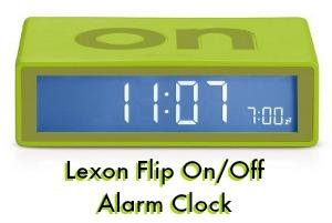 Flip Over Alarm Clock