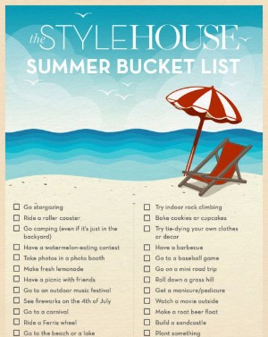 Summer Bucket List Fun
