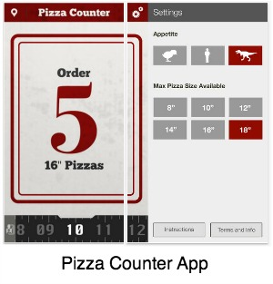 Pizza Measurement App