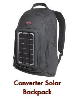 Converter Solar Backpack