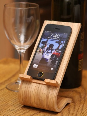 Etsy Wooden Phone Stand