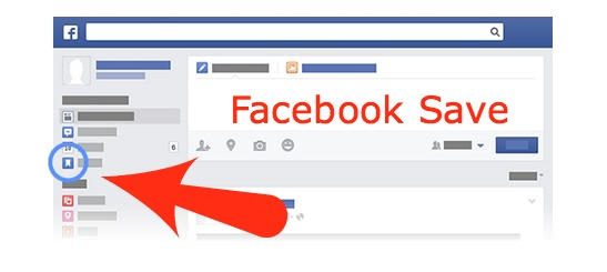 Finding Facebook Saved Articles