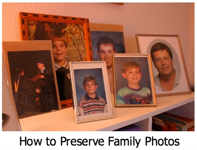 How to Preserve Family Photos