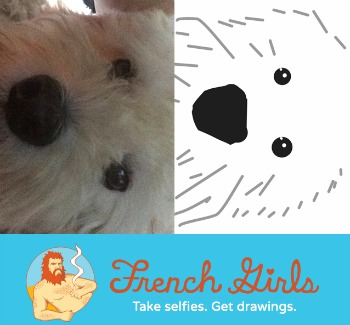French Girls My Dog