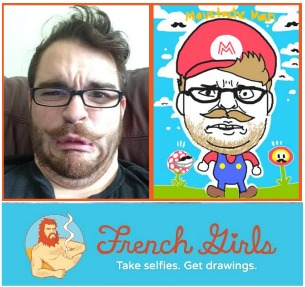 French Girls Characature App