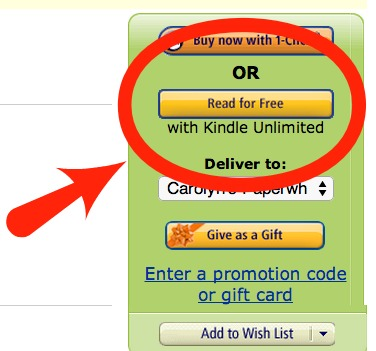 Kindle Unlimited Titles