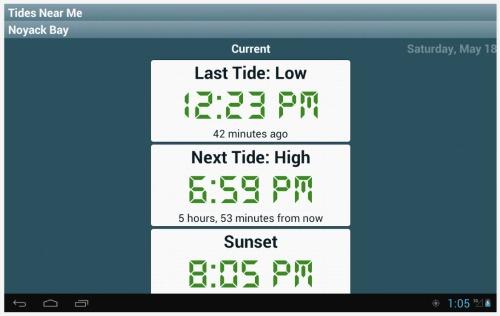 Tidal Information App