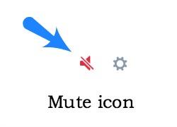 Mute icon Twitter
