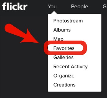 Finding Your Flickr Favorites