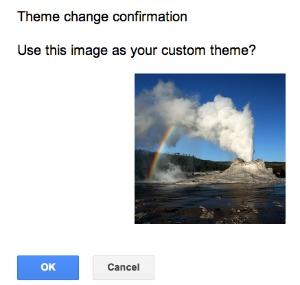 Gmail Theme Change Okay