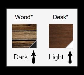 Gmail Theme Choices Dark vs Light