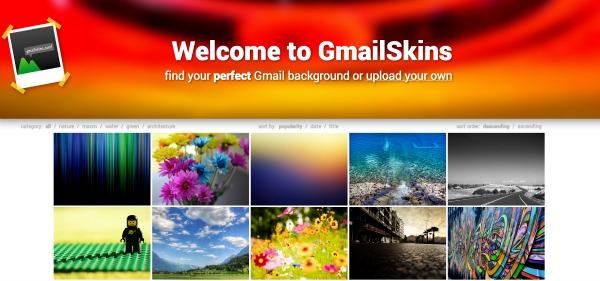 Gmail Skins