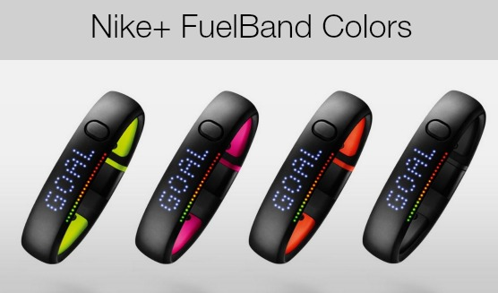 Nike Fuel Band Colors