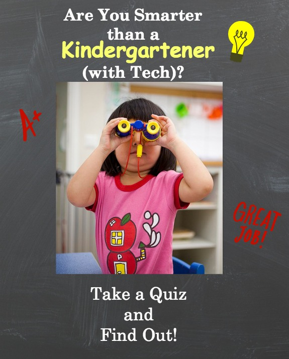 Kindergartener Tech Quiz