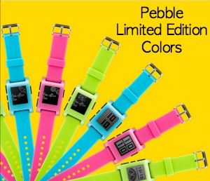 Pebble Neon Colors