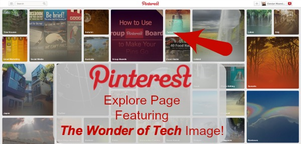 Pinterest The Wonder of Tech