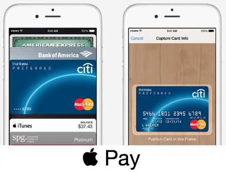 Apple Pay iPhone 6 Plus