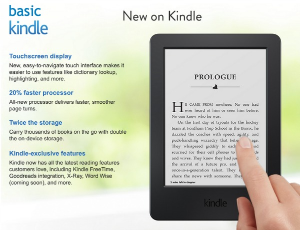 Kindle Improvements 2014 Model