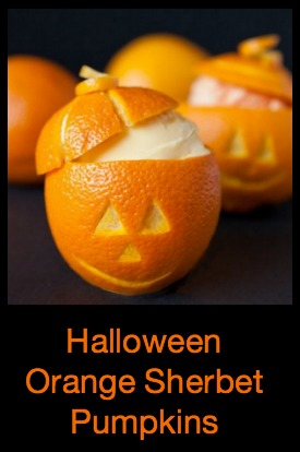 Halloween Pumpkin Ice Cream Ideas