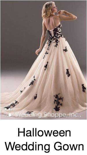 Halloween Bridal Gown