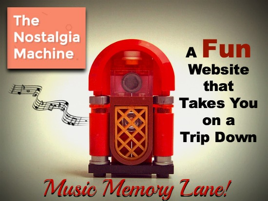 Nostalgia Machine Website