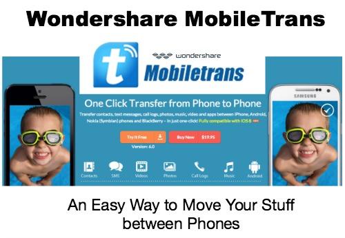 Wondershare Mobile trans