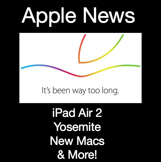 Apple iPad Air 2, Yosemite, Apple Pay