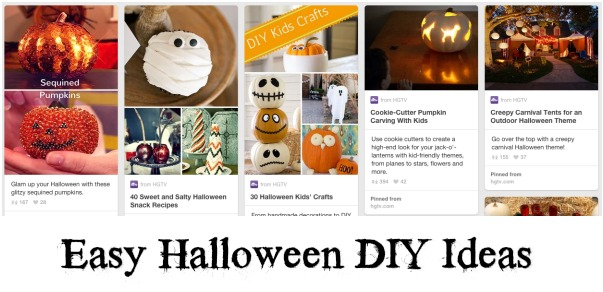 HGTV Halloween Pinterest Board