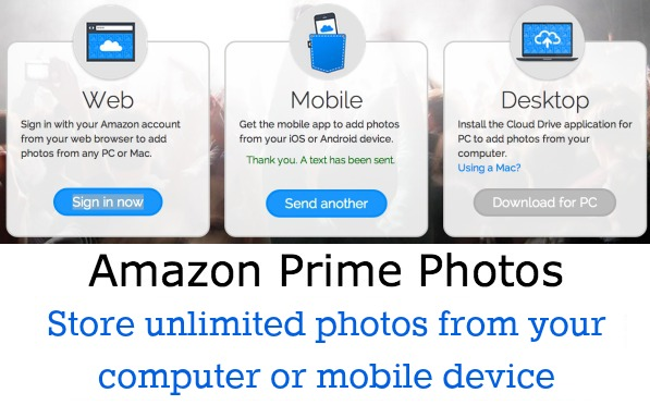 Amazon Photo Storage