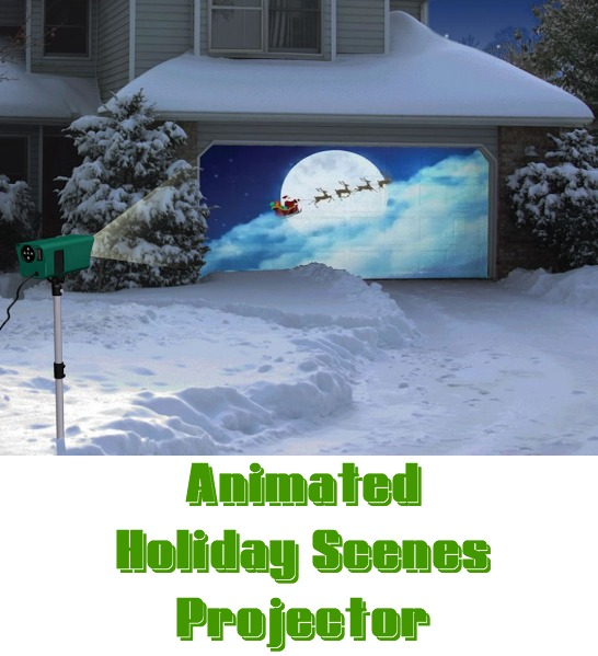 Hammacher Schlemmer Holiday Scenes Projector