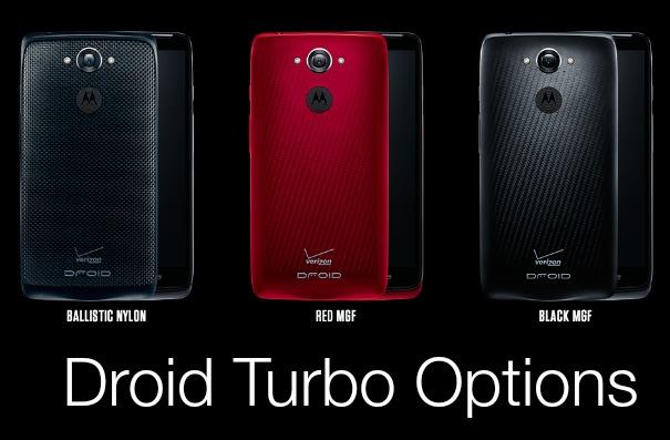Motorola Droid Turbo Colors