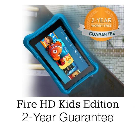 Kindle Fire Kids Edition Guarantee