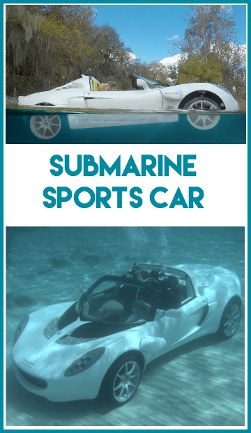 Hammacher Schlemmer Submarine Car