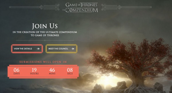 Game of Thrones HBO Compendium