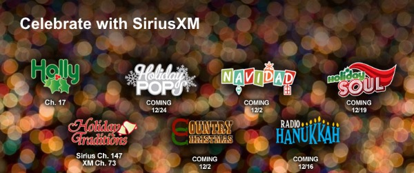 Sirius XM Holiday Music