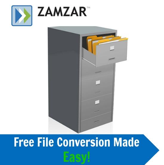 Zamzar File Conversion Website