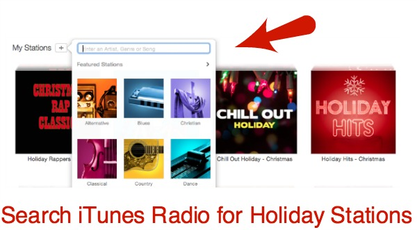iTunes Radio Search on Computer