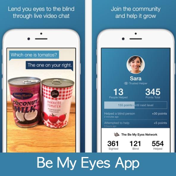 Be My Eyes Sample Tasks