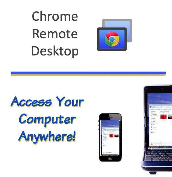 how to start chrome remote desktop