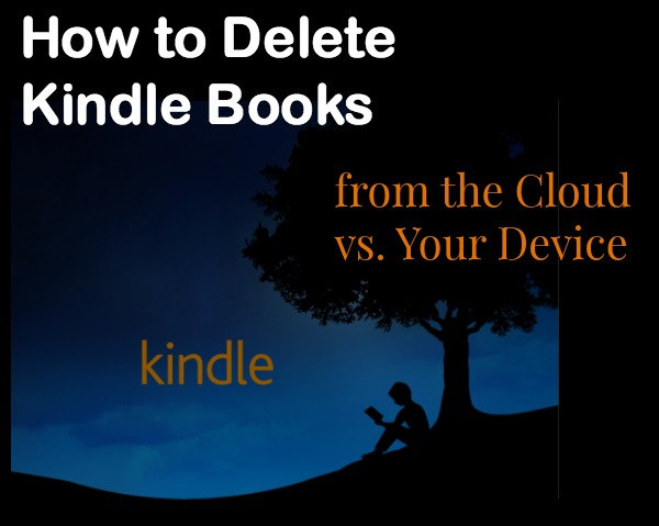 Deleting Kindle Books from Your Amazon Account