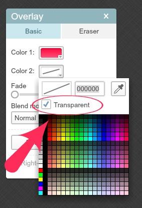 PicMonkey Transparent
