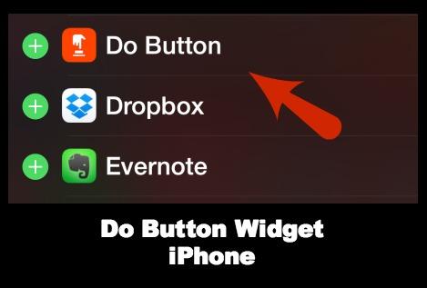 Do Button Today Screen