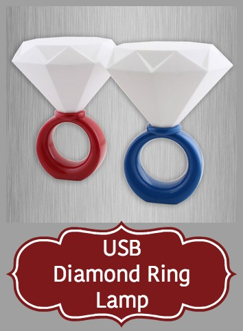 USB Diamond Ring Lamp