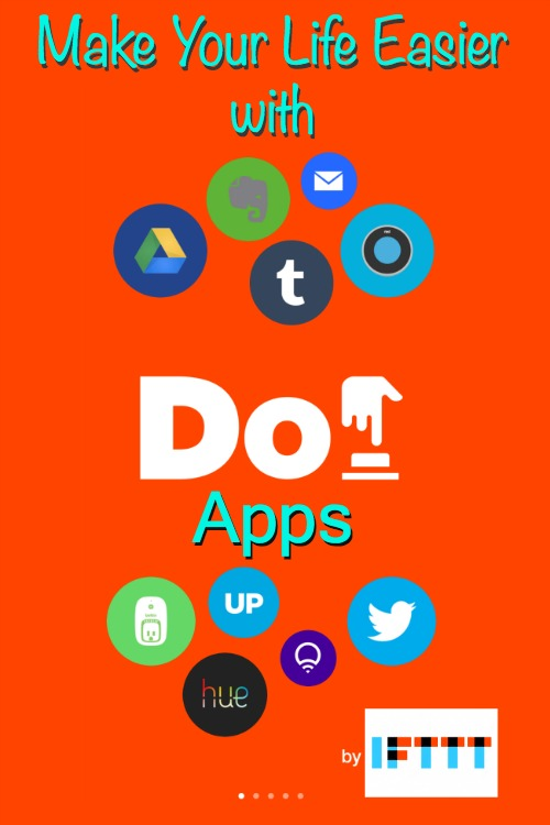 Do and IF apps IFTTT