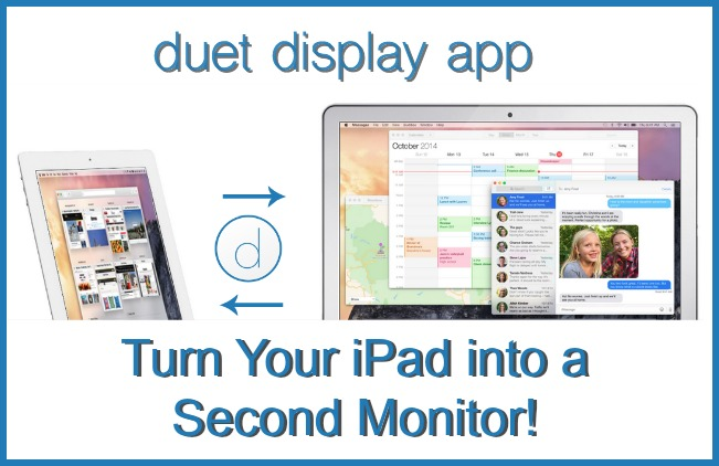 Duet iPad 2nd monitor