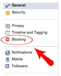 Facebook Blocking Apps