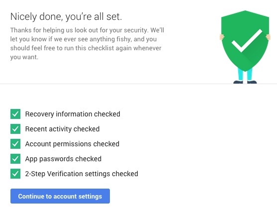 Google: Take a Security Check and Get 2 GB of Free Storage [TIP]